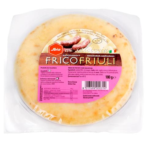 FRICO CON SALSICCIA 180G